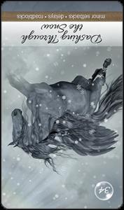 Dashing Through the Snow Reversed