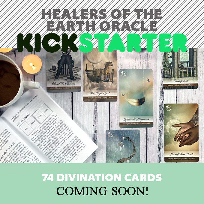 Healers of the Earth Oracle Kickstarter